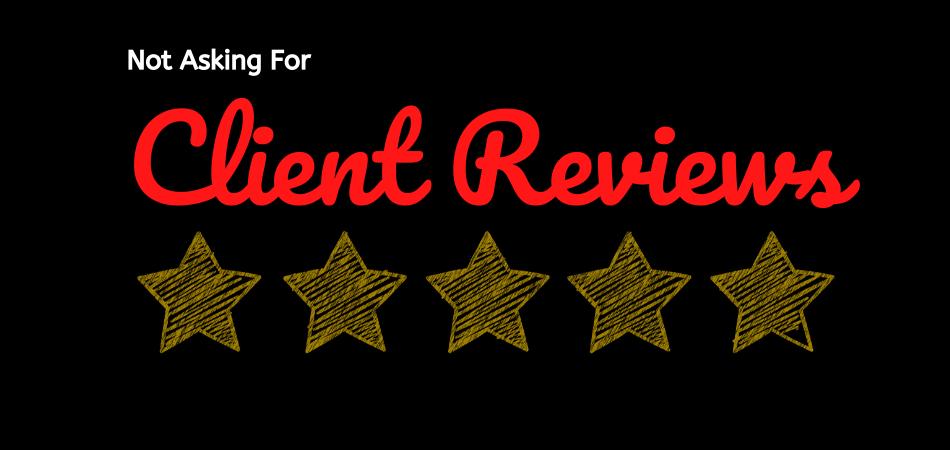 no client reviews